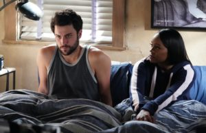 Connor y Michaela en HTGAWM 6x15 Stay (Final de la serie)