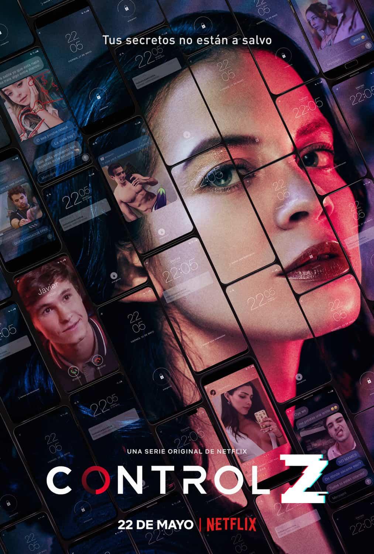 Póster de la serie Control Z (Netflix)