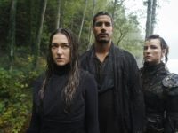 Echo, Gabriel y Hope en The 100 7x02 The Garden