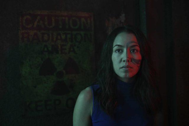 Luisa d'Oliveira como Emori en The 100 7x03 False Gods