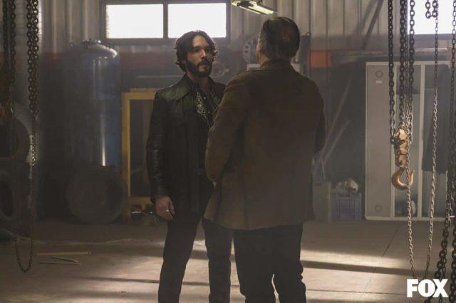 Almagro San Miguel como Diego Ramala y David Ostrosky como Víctor Ramala en Vis a Vis El Oasis Episodio 7