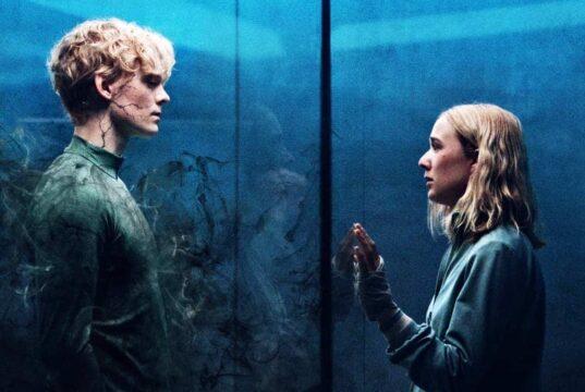 Rasmus y Simone en el póster de la tercera temporada de The Rain