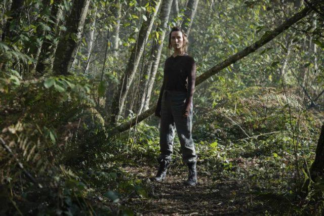 Shelby Flannery como Hope en The 100 Temporada 7 Episodio 4 Hesperides