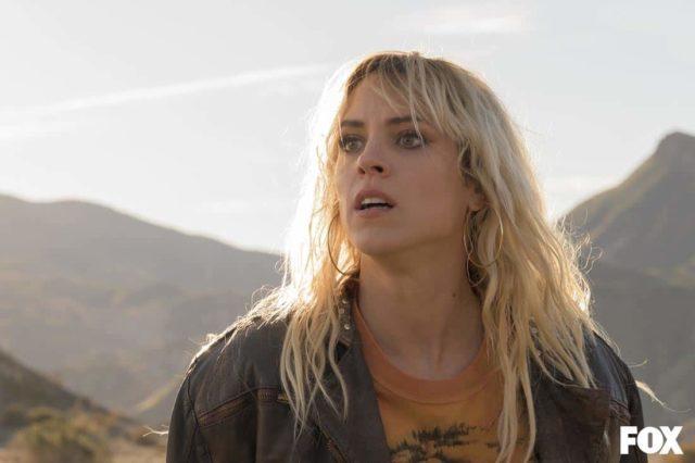 Maggie Civantos como Macarena Ferreiro en el final de Vis a