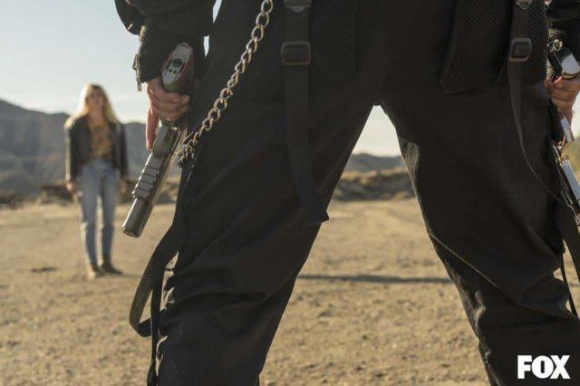 El arma de Zulema Zahir en Vis a Vis El Oasis Episodio 8