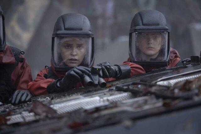 Iola Evans como Callie en The 100 7x08