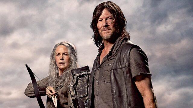 Carol Peletier (Melissa McBride) y Daryl Dixon (Norman Reedus) en The Walking Dead