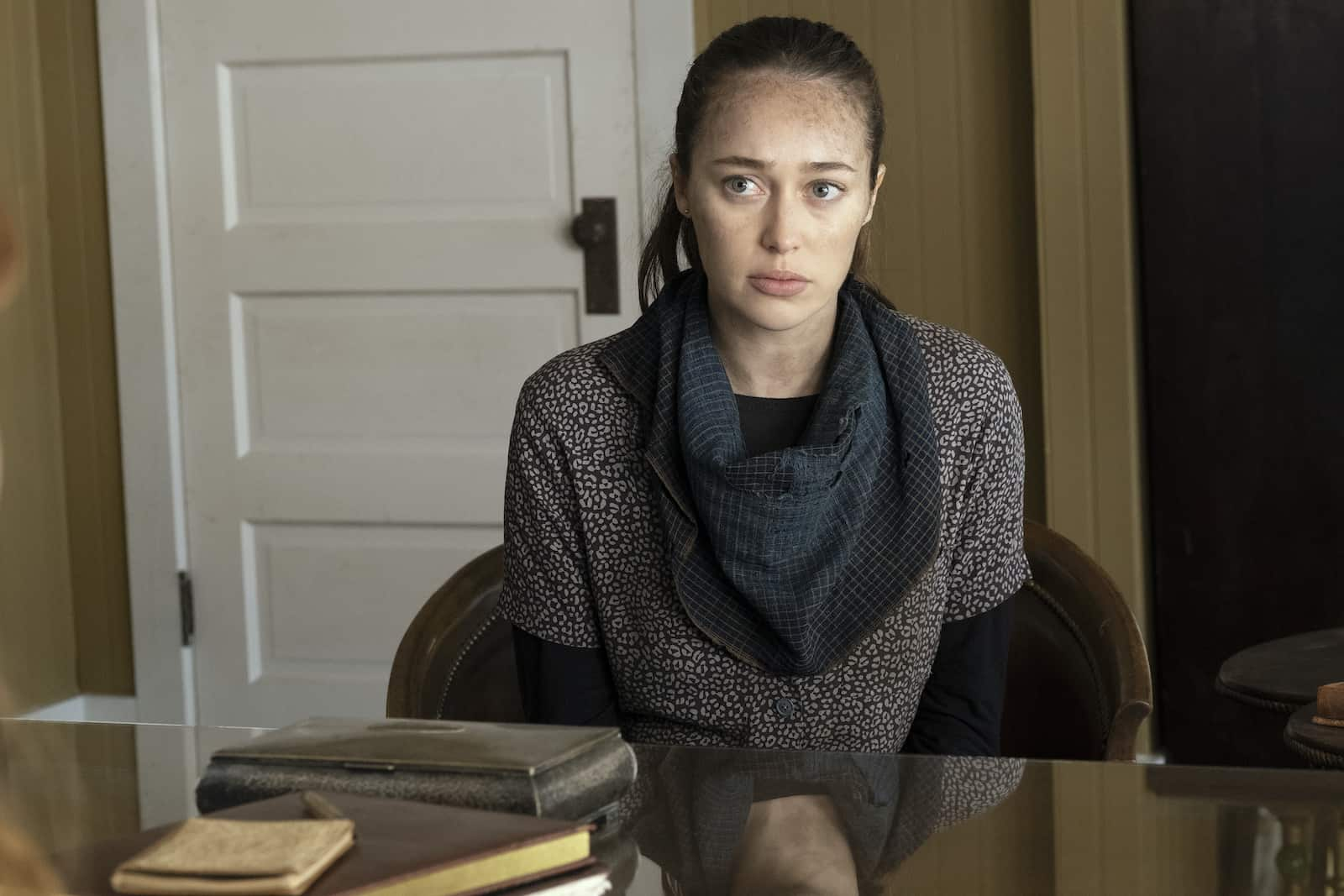 Alycia Debnam-Carey en Fear The Walking Dead 6.02