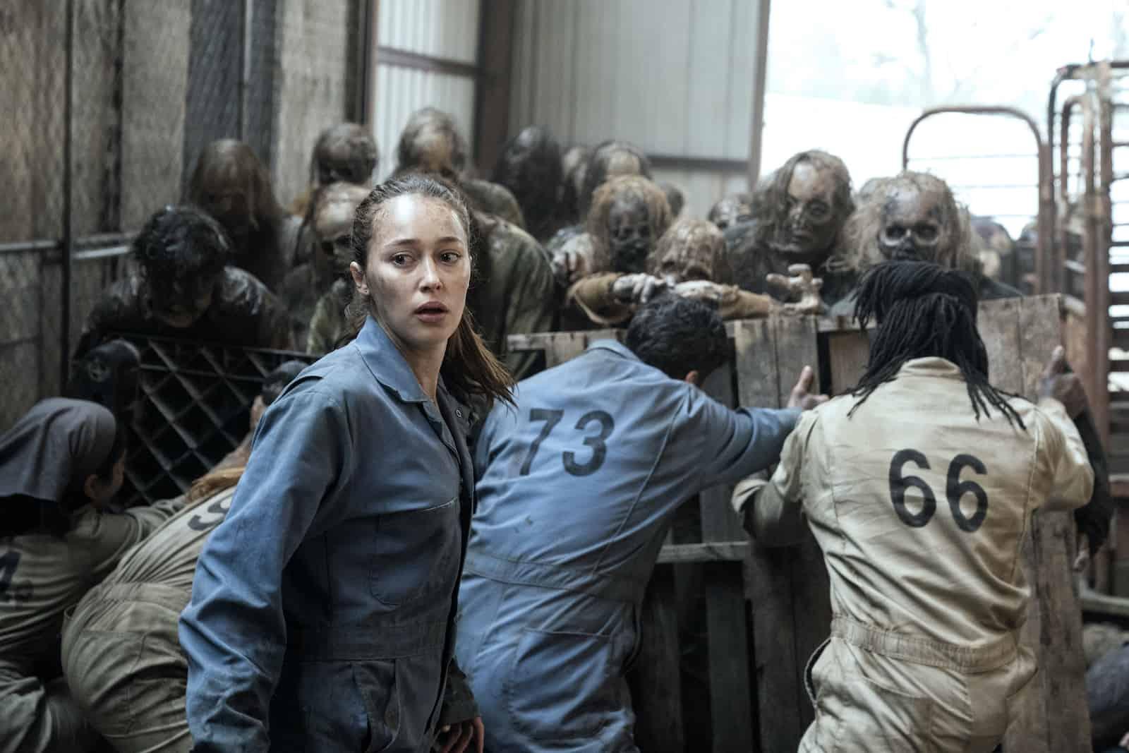 Alycia Debnam-Carey en Fear The Walking Dead S06E02