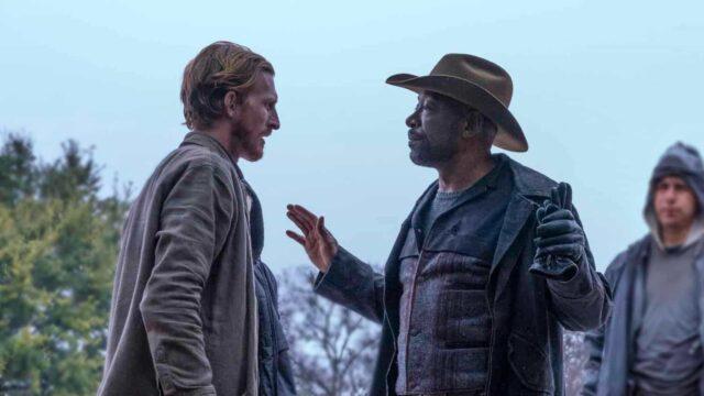 Dwight y Morgan en Fear TWD 6x05