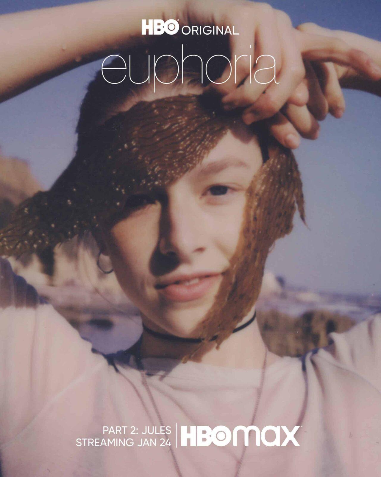 Jules (Hunter Schafer) en el segundo episodio especial de Euphoria