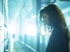 Zendaya como Rue Bennett en Euphoria