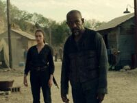 Alycia Debnam-Carey como Alicia y Lennie James como Morgan en los nuevos episodios de Fear The Walking Dead (2021)