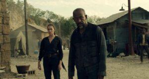 Alycia Debnam-Carey como Alicia y Lennie James como Morgan en los nuevos episodios de Fear The Walking Dead (2021)