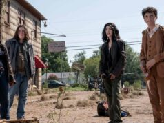 Iris, Silas, Hope y Elton en la primera temporada de TWD World Beyond