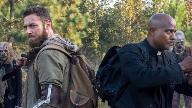 Aaron y Gabriel en las primeras imágenes del regreso de The Walking Dead en 2021