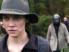 Lauren Cohan como Maggie en la temporada 10 extendida de The Walking Dead