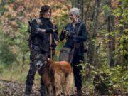 Daryl, Carol y Dog en The Walking Dead 10x18 Find Me