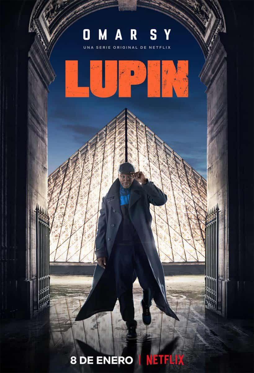 Póster de Lupin (Netflix 2021)
