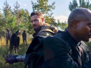 Aaron y Gabriel en The Walking Dead 10x19 'One More'