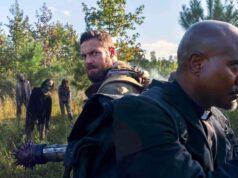 Aaron y Gabriel en The Walking Dead 10x19 'One More'