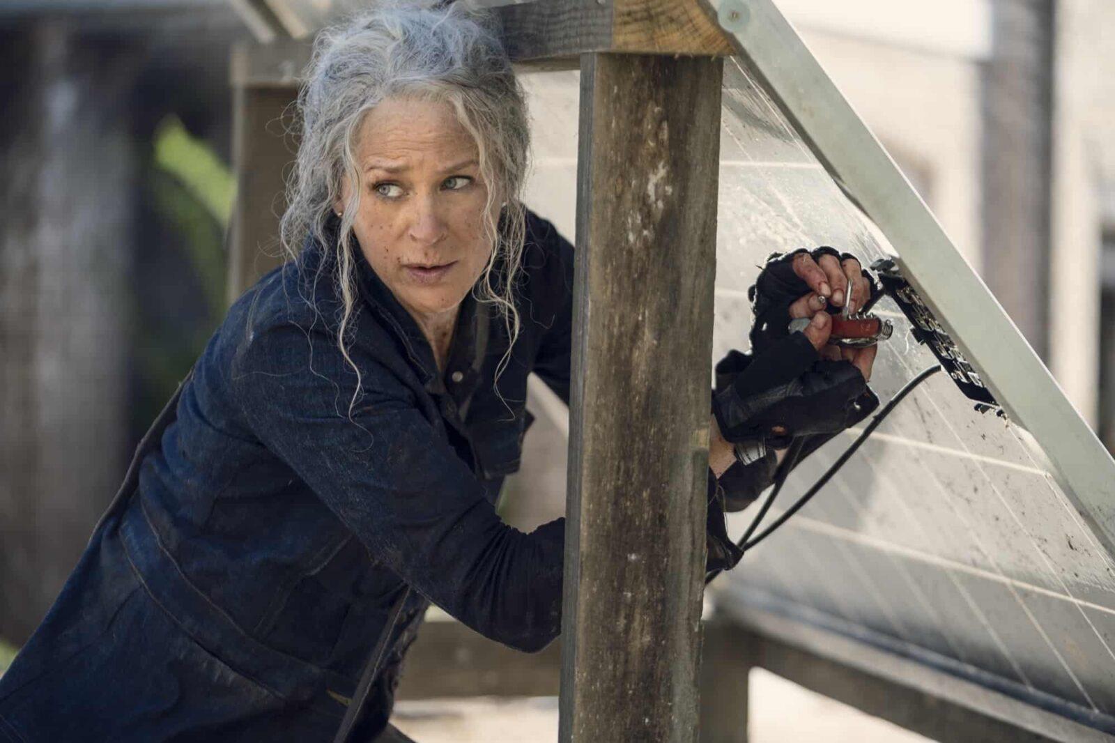 Carol (Melissa McBride) en The Walking Dead 10x21 Diverged