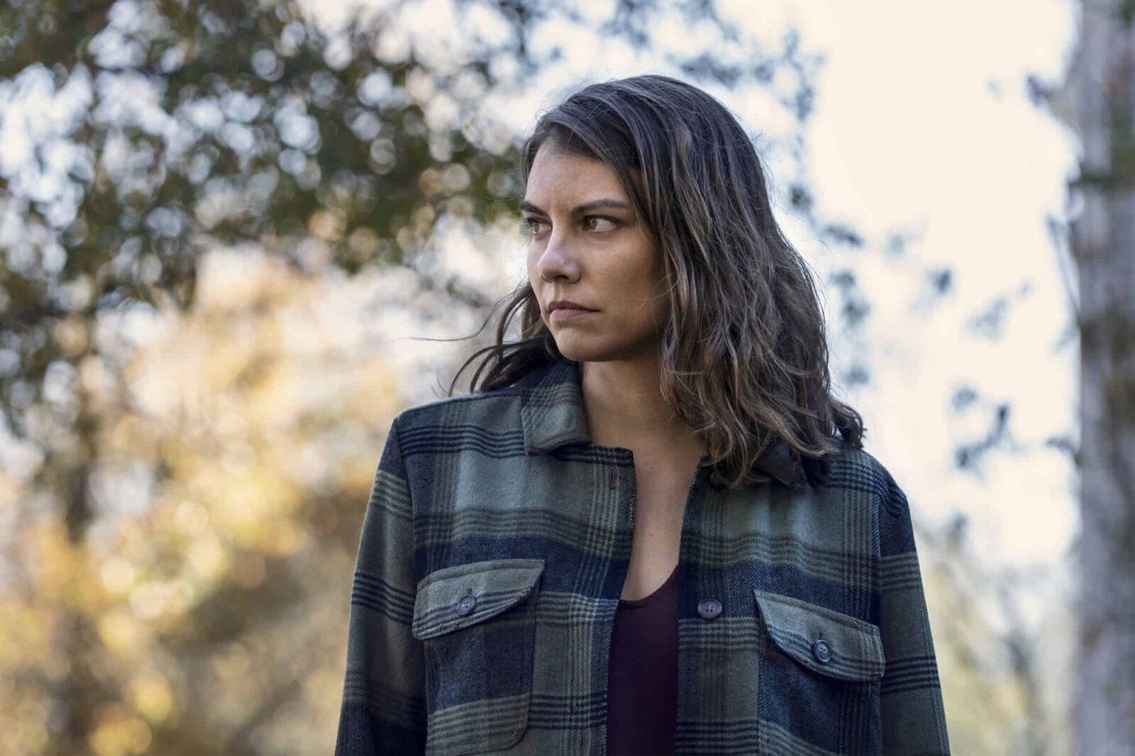 Lauren Cohan como Maggie Rhee en The Walking Dead 10x22 Here's Negan