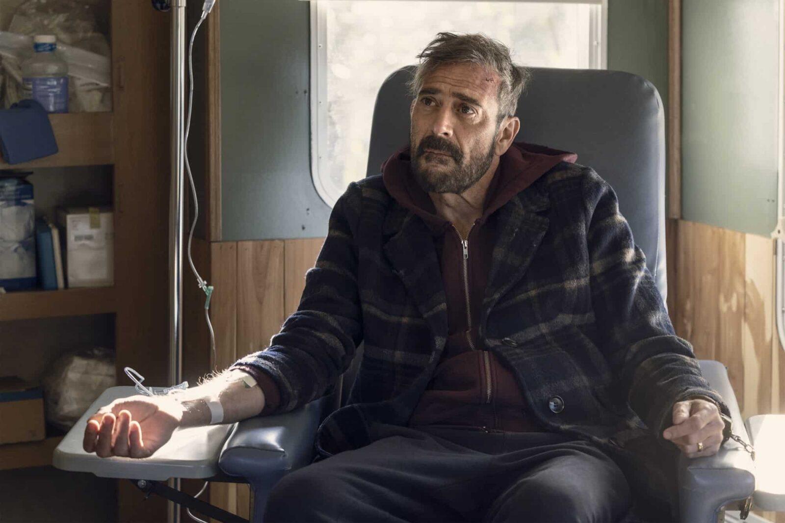 Negan (Jeffrey Dean Morgan) en The Walking Dead 10x22 Here's Negan