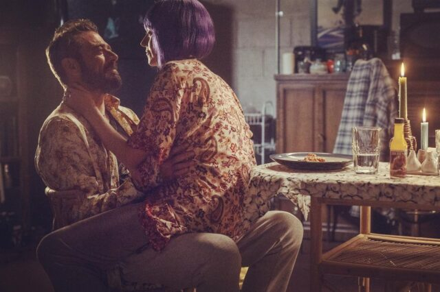 Negan (JDM) y Lucille (Hilarie Burton Morgan) en The Walking Dead 10x22 Here's Negan