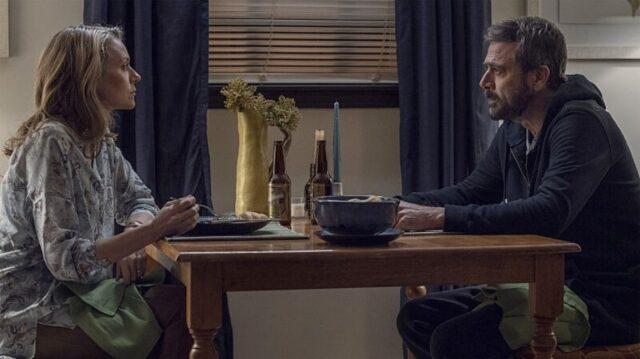 Lucille (Hilarie Burton Morgan) y Negan (Jeffrey Dean Morgan) en The Walking Dead 10x22 Here's Negan