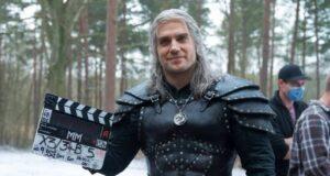 Henry Cavill como Geralt de Rivia en la segunda temporada de The Witcher