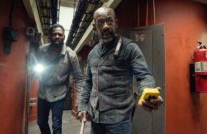 Strand y Morgan en Fear The Walking Dead 6x15
