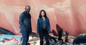 Morgan y Grace en el final de temporada de Fear The Walking Dead 6x16